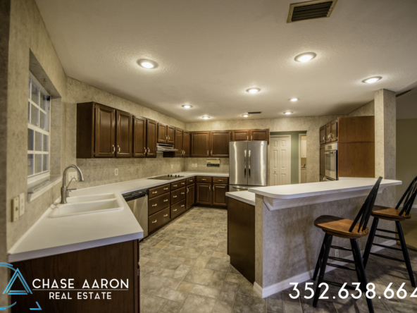 Refined Kitchen at 1380 W Lakeshore Drive