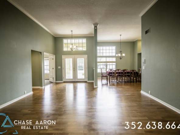 Formal Living and Dining area
