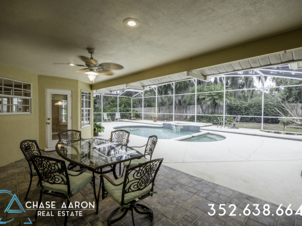 Covered Patio and Pool Deck